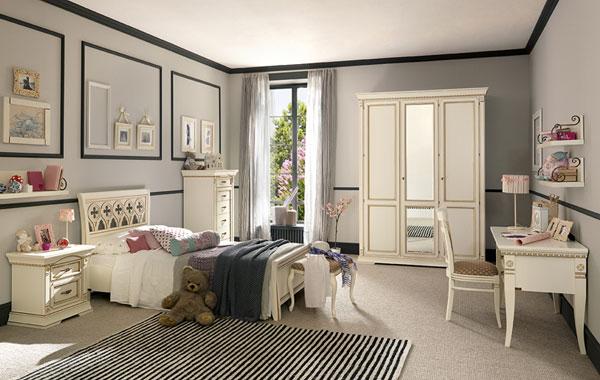 Детская комната, белая